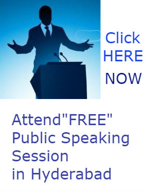 Free Public Speaking Training Hyderabad
